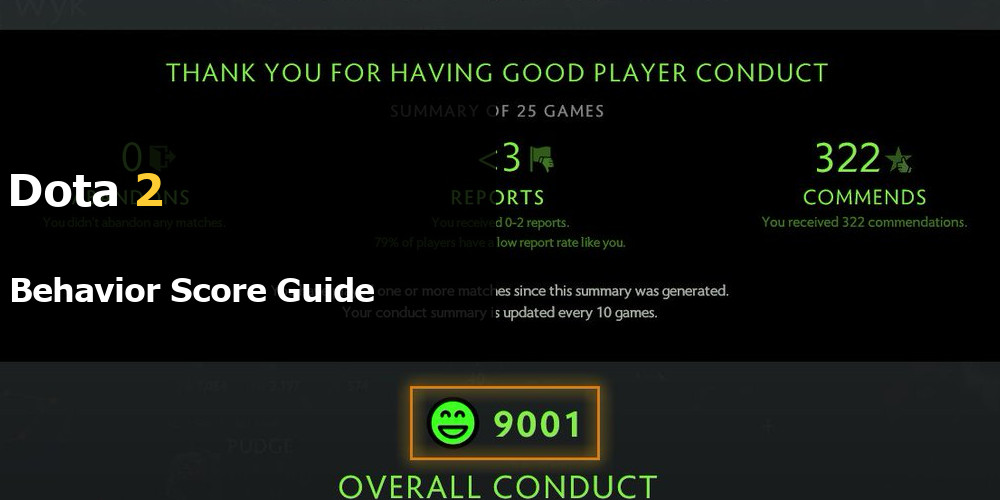 Dota 2 Behavior Score