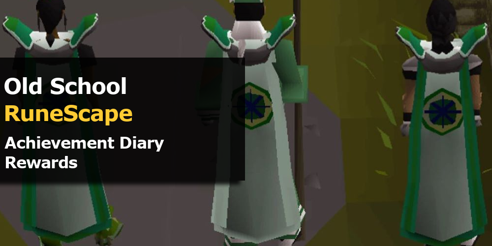 OSRS Achievement Diary Rewards
