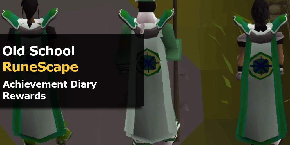 OSRS Achievement Diary Rewards