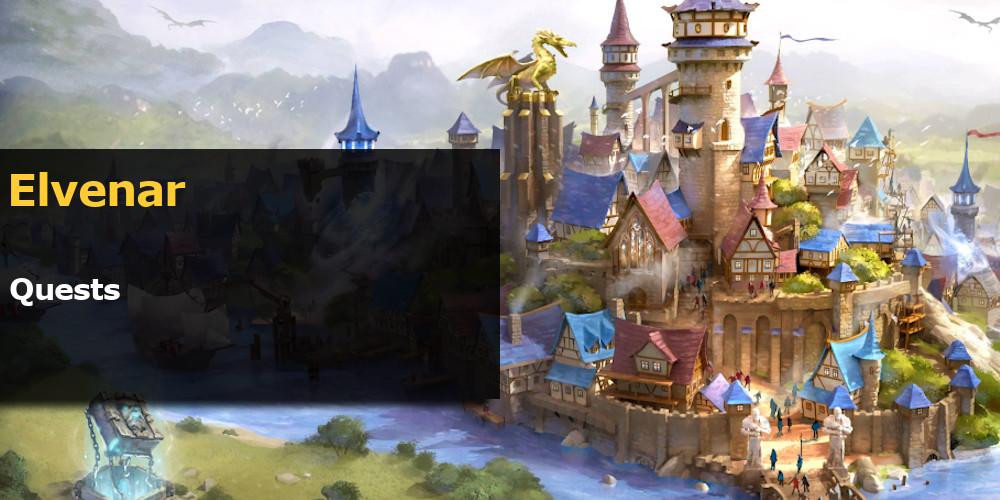 Elvenar quests