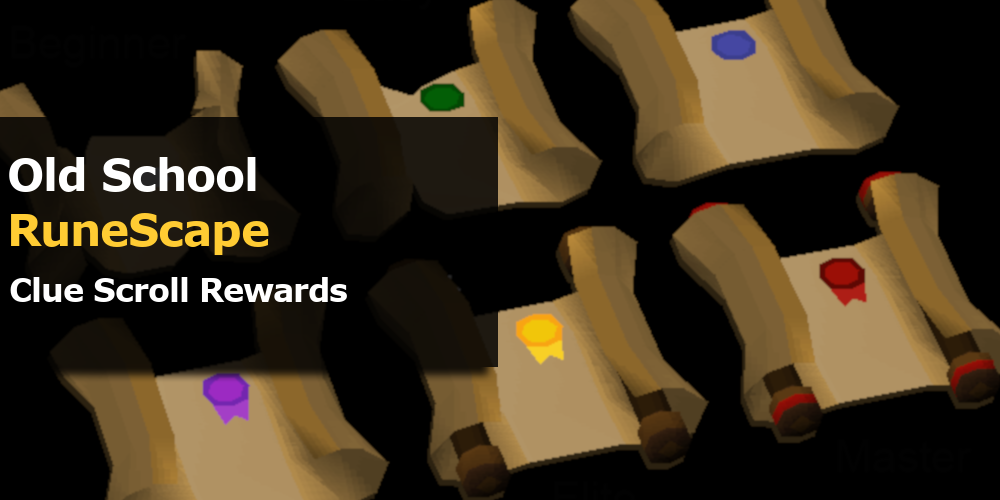 OSRS Clue Scrolls Rewards