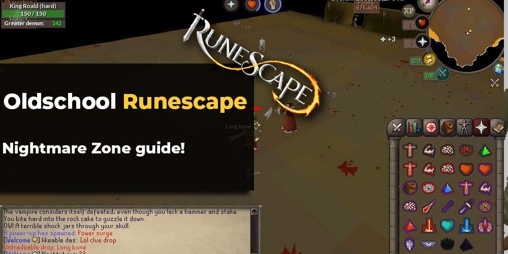 Nightmare Zone guide OSRS