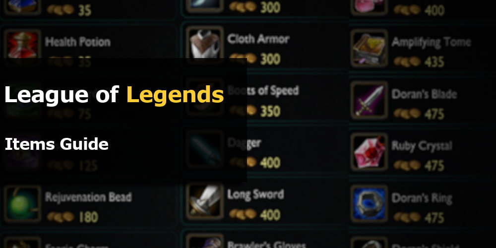 lol items guide