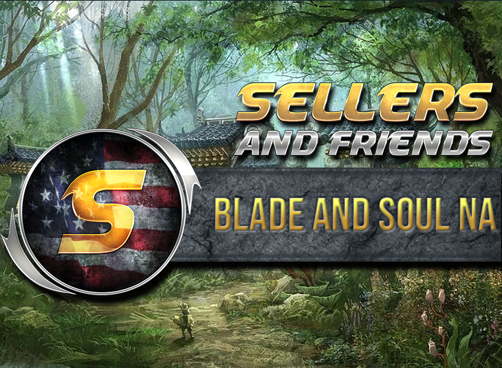 BLADE AND SOUL GOLD - NA Servers ZULIA, YURA - 60s delivery time! - www.sellersandfriends.com