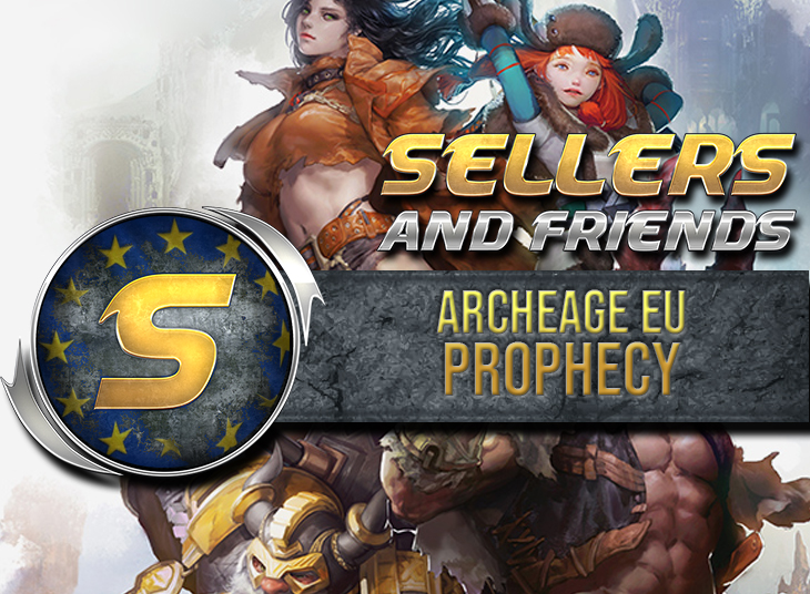 Sell Archeage gold - EU Prophecy Gold! 1k - Cheap ! Fast delivery!  Trusted selle