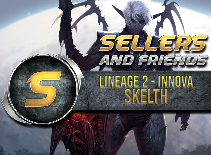 Lineage 2 SKELTH Adena Fast Easy - 200+ payments - BONUS Adena ! - www.sellersandfriends.com