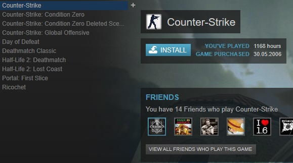 Steam Account for Sale! 9 Games | CSGO | CS CZ | CS 1 6 | Day of Defeat and  much more! 2k6!!