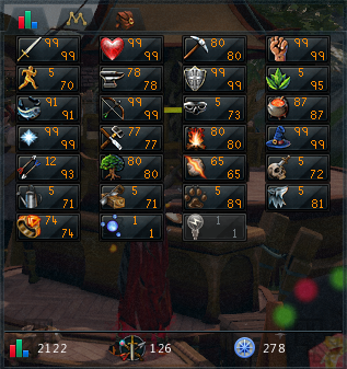SELLING MAIN ACC - RS3 - $140