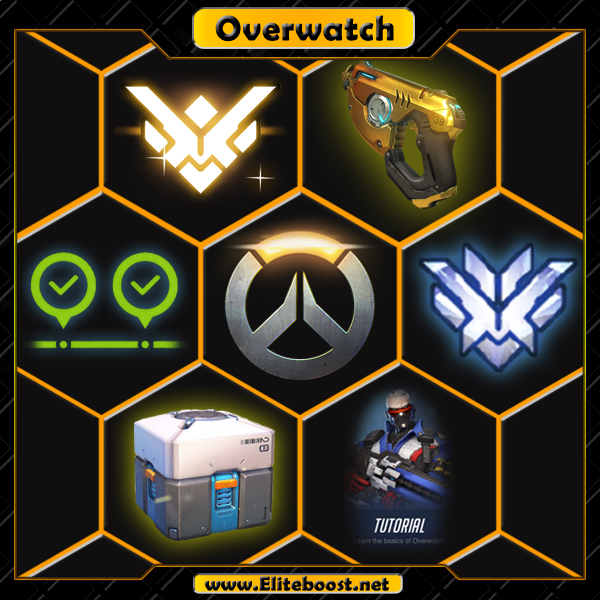 Overwatch | Rank boosting | Account Leveling 1.79€ | TOP 500 | Golden Weapons |