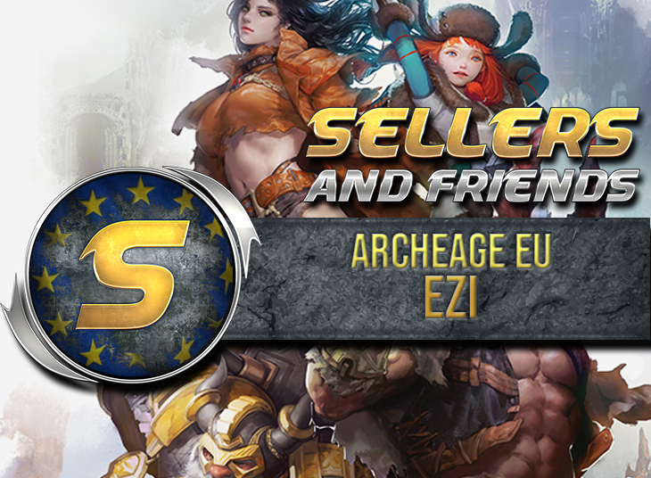 ArcheAge Europe - EZI GOLD and APEX! Order now and get gear faster!