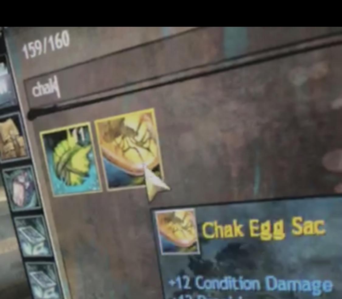 Chak Egg Sac