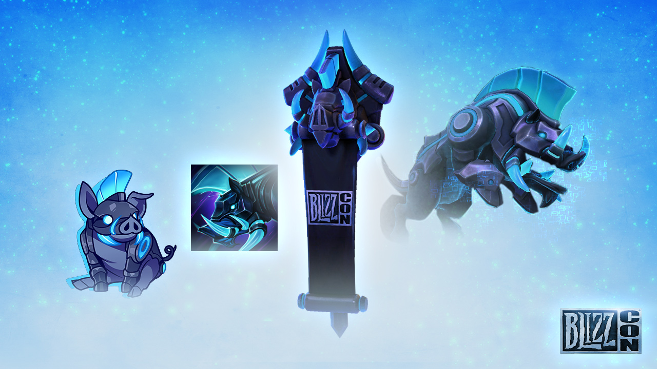 Blizzcon 2017 virtual ticket (for in-game goodies)