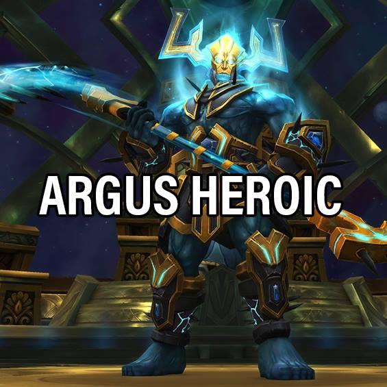 Heroic Argus kill