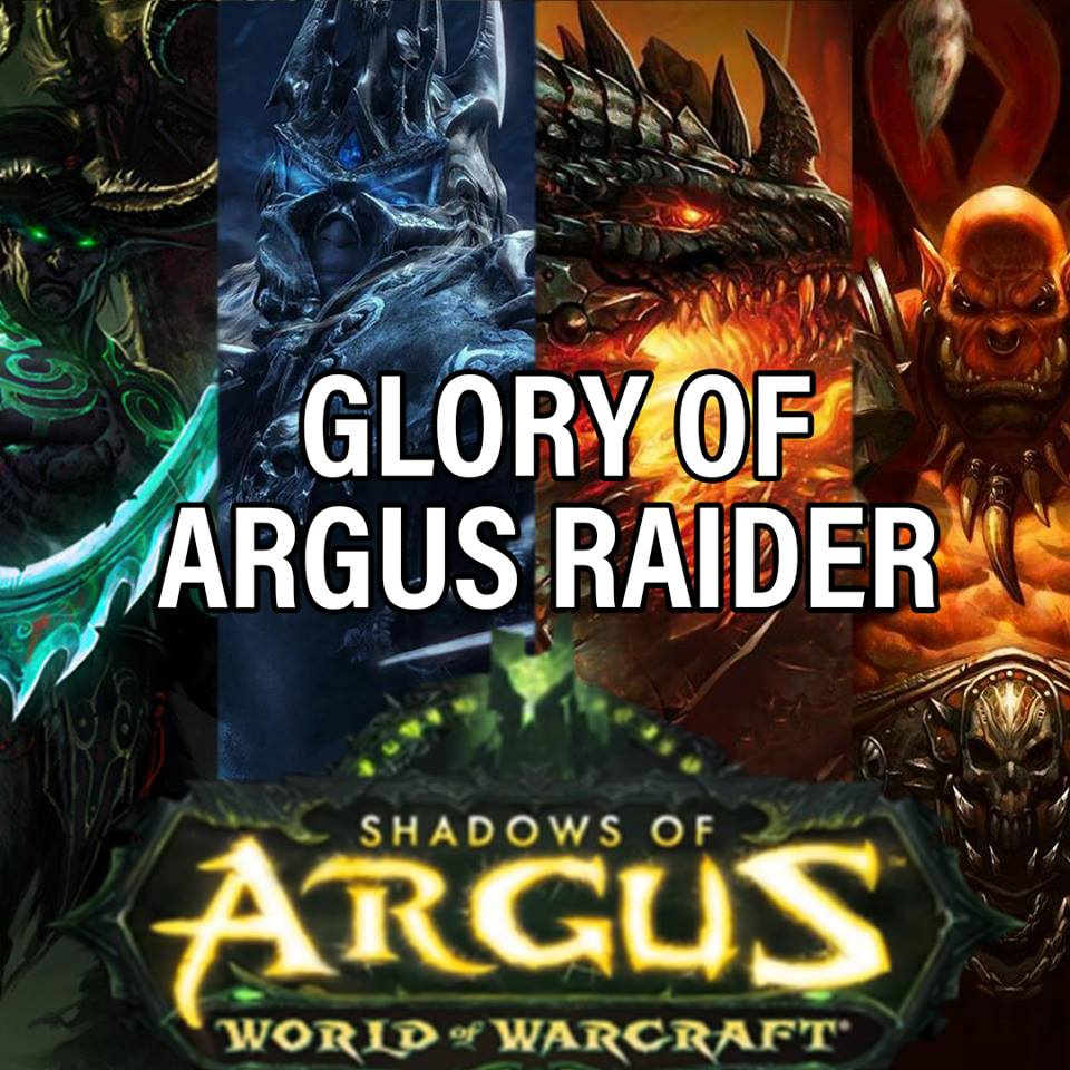 Glory of the Argus Raider boost