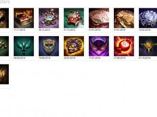 (NA) League of legends Account . 80 Champions / 50 Skins