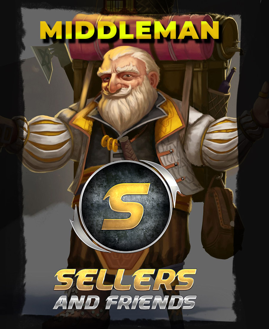 Welcome to Sellers And Friends middleman service.