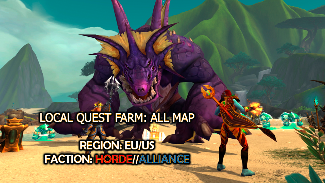 Local quest farm: ALL MAP