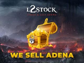 L2STOCK - WE BUY YOUR ADENA ADEN TI GIRAN GLUDIO  - L2 ADENA - TOP PRICE - PM US !