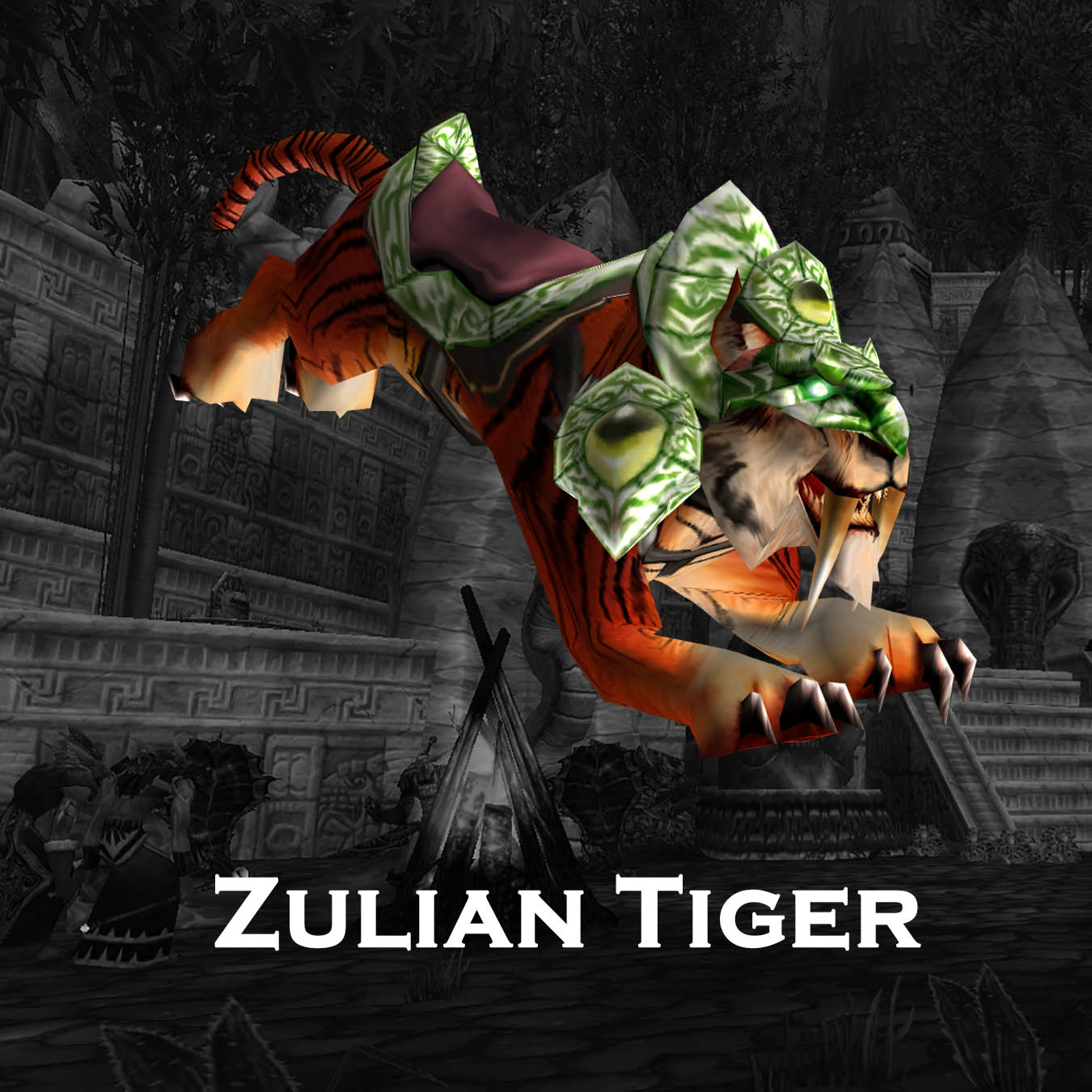 Swift Zulian Tiger | Elusive Rare Legendary Mount | Black Market Mount Hunt | BMAH WoW Boost