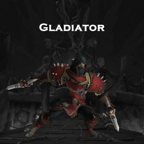 GLADIATOR title | 2v2 or 3v3 | PREMIUM VPN | Gladiator Mount | PVP Gladiator's Armor Set | ARMADA