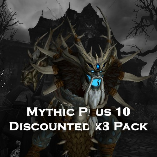 x3 Mythic+ 10 Dungeon Run BUNDLE | x3 380 iLvl Loot Weekly Chest | Mythic Plus WoW Boost | ARMADA