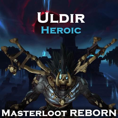 Uldir Heroic Master Loot Reborn | 7 Items Guarantee | 370 iLvl Loot | Raid Run WoW Boost | ARMADA