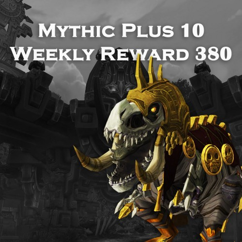Mythic+ 10 Dungeon Run | 380 iLvl Loot Weekly Chest | SELFPLAY | Mythic Plus WoW Boost | ARMADA