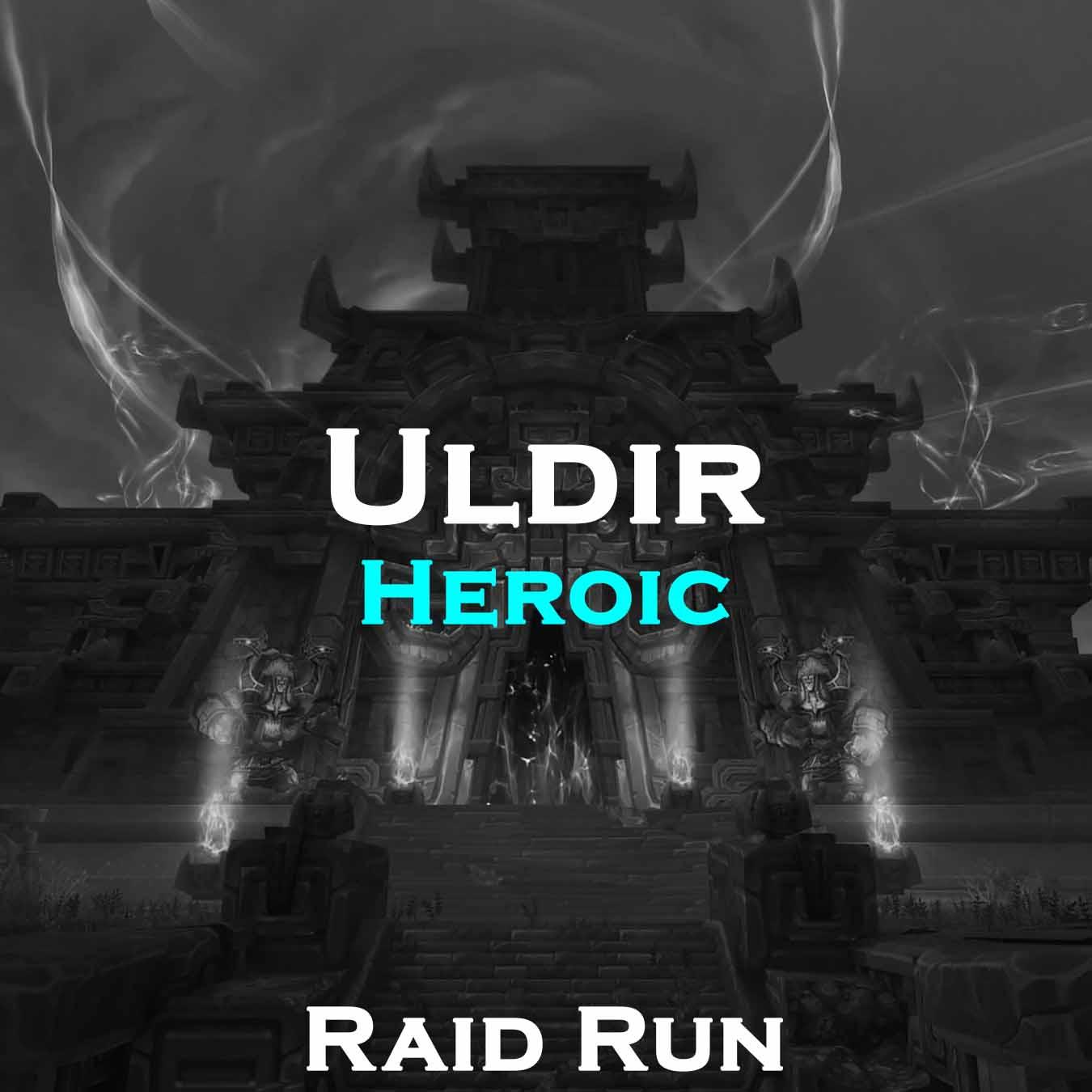 Uldir Heroic Raid Run | 8/8 Full Run | 370 iLvl Loot | NO ACCOUNT SHARING | Guild WoW Boost | ARMADA
