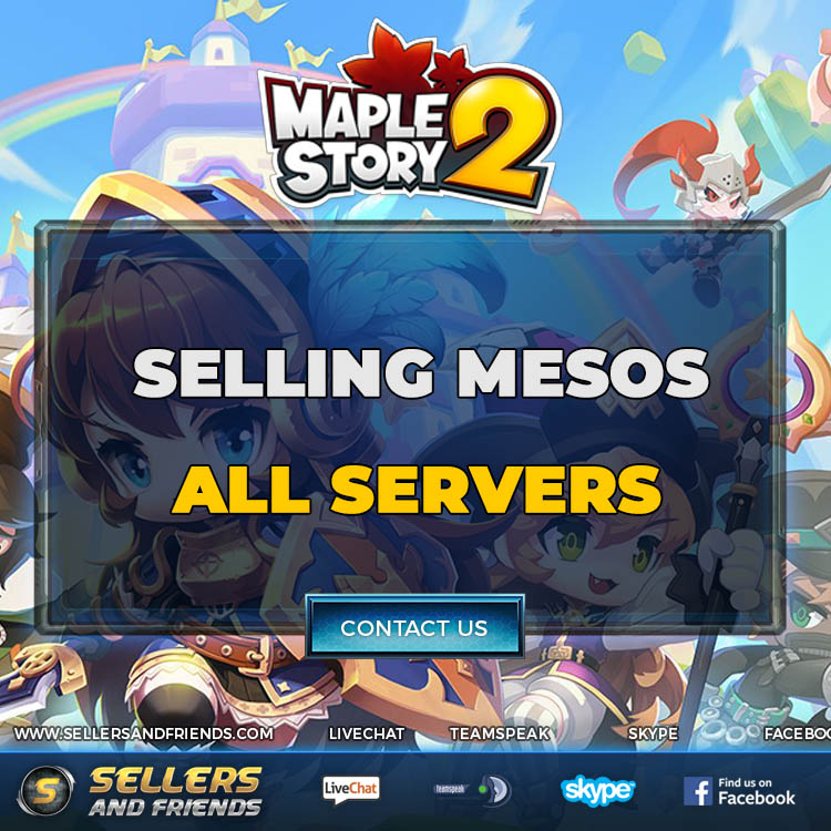 WTS MAPLESTORY 2 MESOS - ALL SERVERS - Instant Delivery - Trusted - Secure!  - Sellersandfriends.com