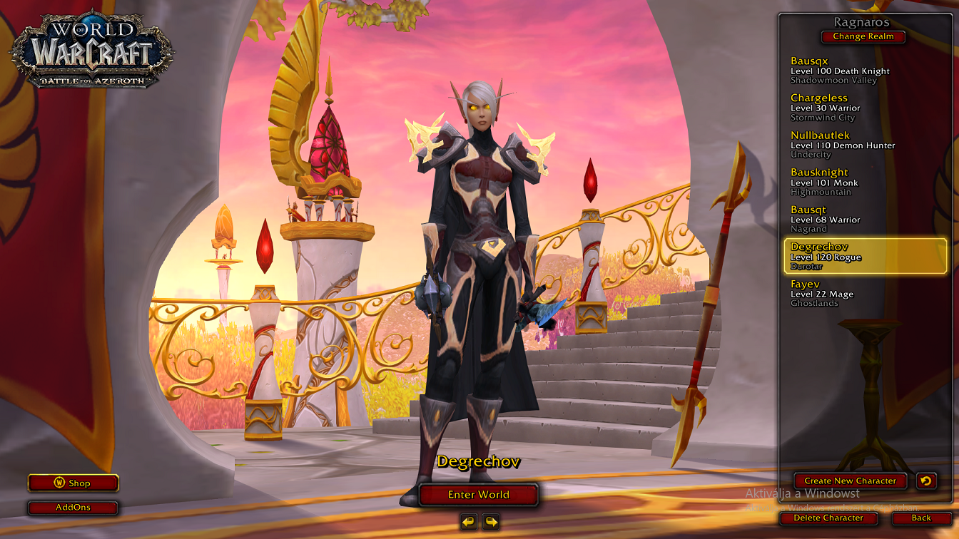 392 ILVL BELF ROGUE AND OTHER CHARS