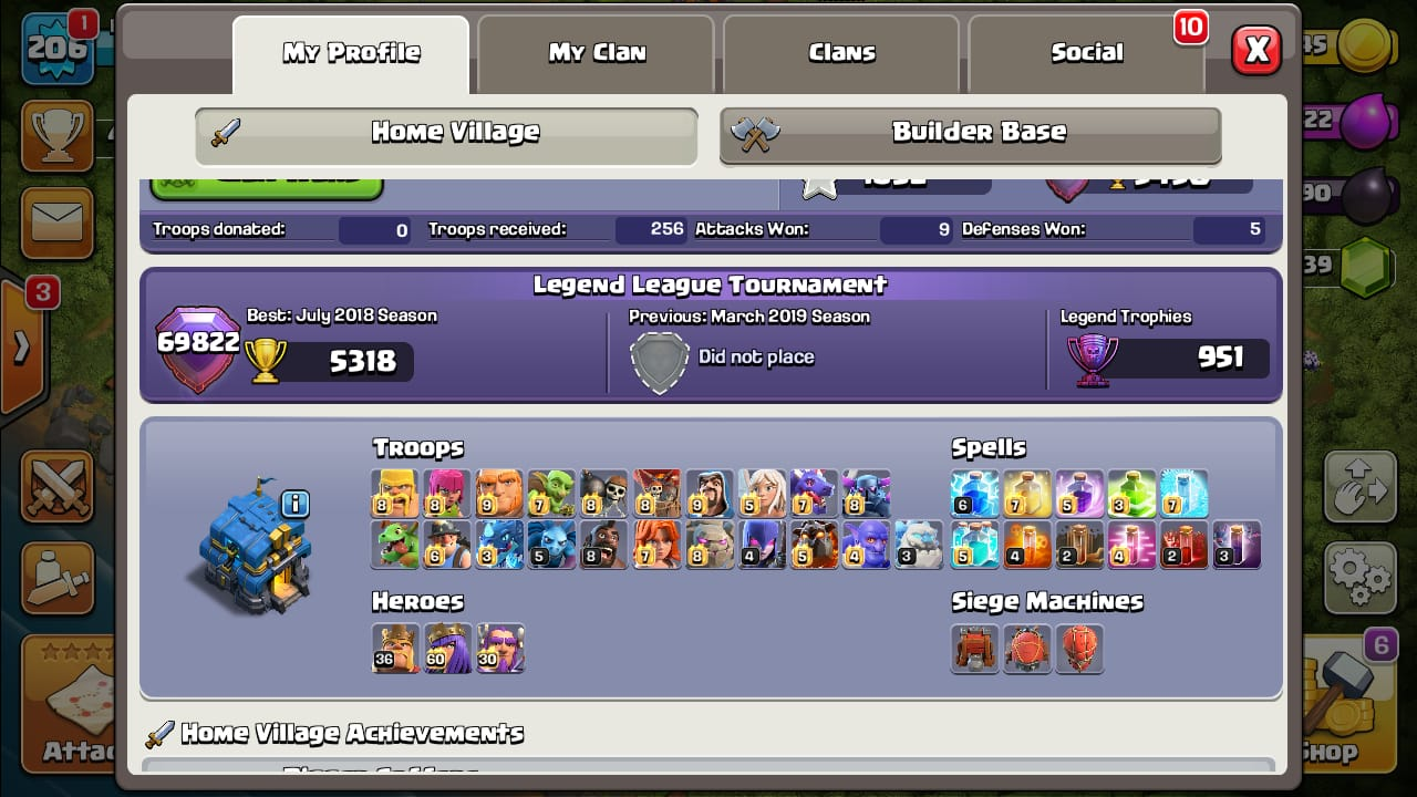 Clash of Clans Account for sale