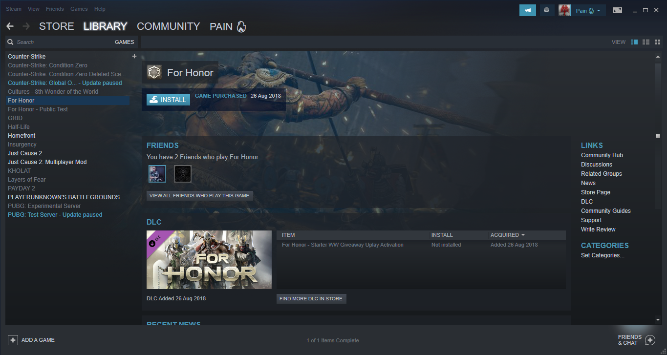 I want to sell My steam Account