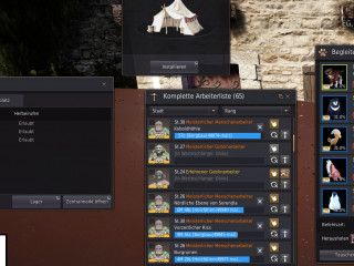 EU Black Desert ACC 61 Archer ! Full TET Many Failstacks 40-80. arround 4 billions silber in mats
