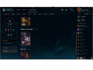 League of Legends acc EUNE Silver 4