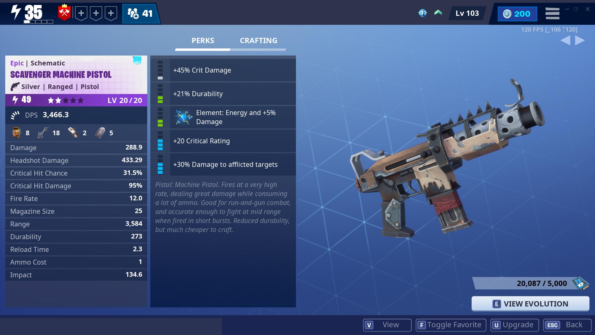3 Scavenger Machine Pistols 49
