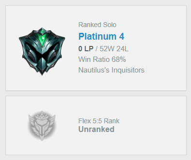 EUW PLAT4 0LP | 68% WR | 40 CHAMPIONS | 8 SKINS | HANDLEVELED |+EMAIL
