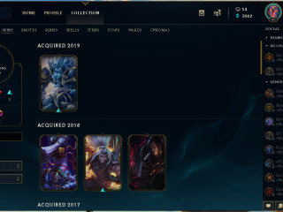 Sell 2 accounts EUW and EUNE