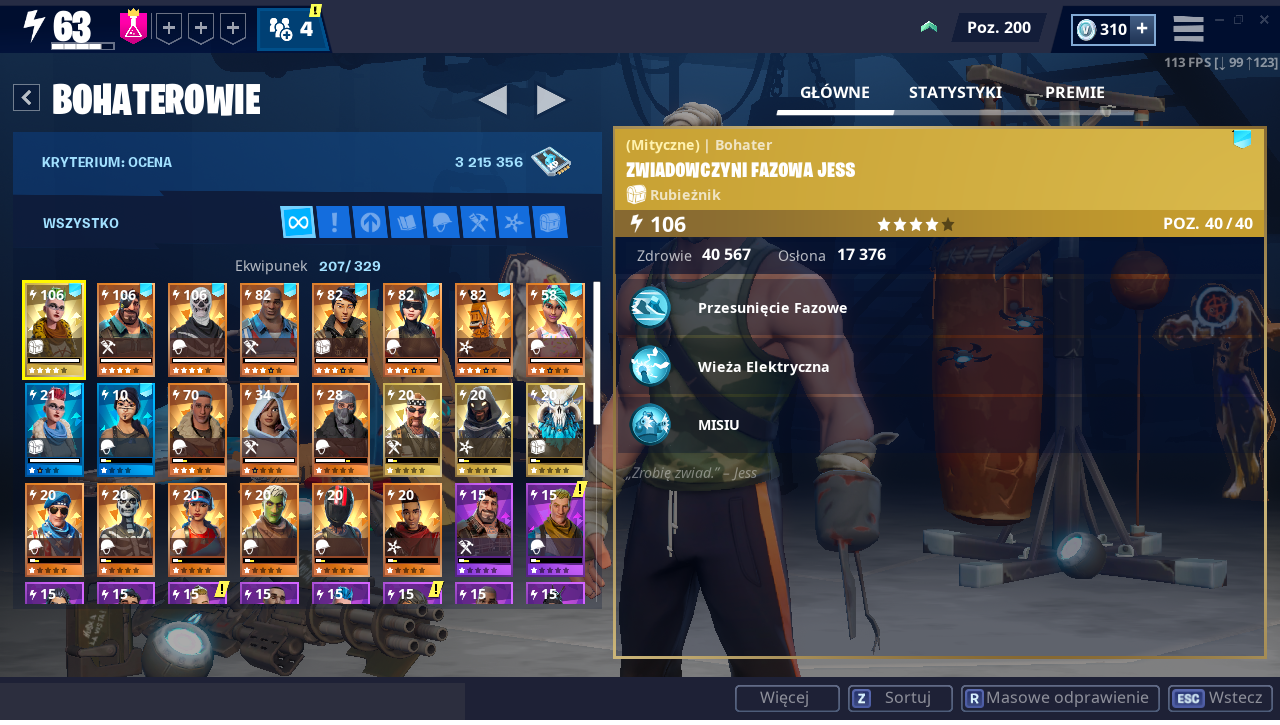 Fortnite br + stw account
