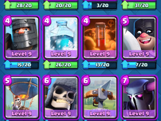 Clash Royale arena 12 Account