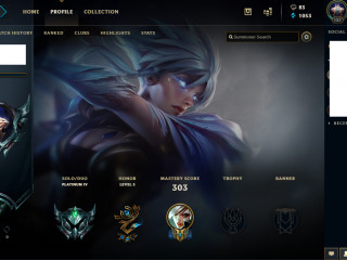 [EUNE] Plat 4 account [96 skins] [91 champs] [100 icons]