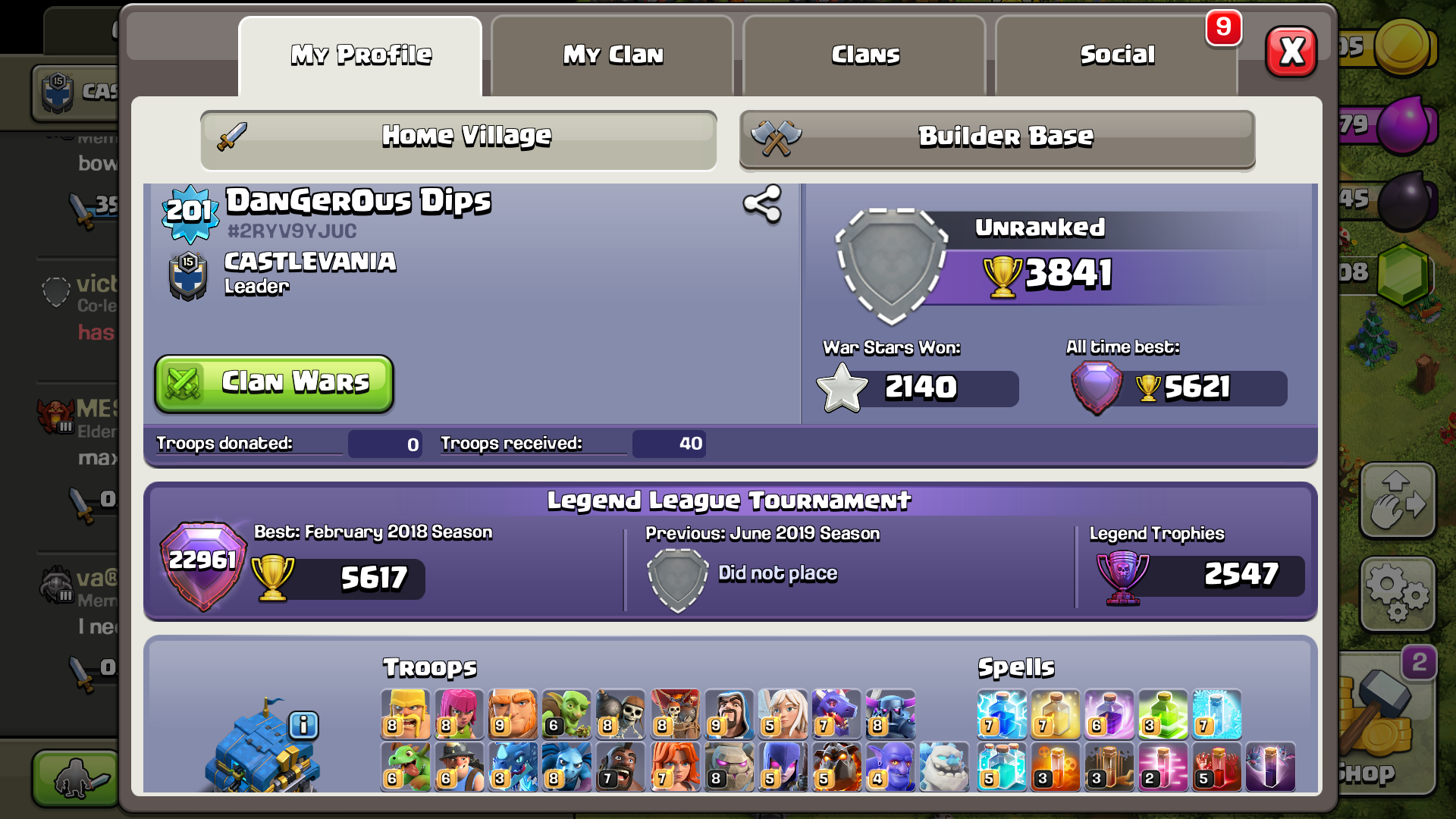 TH 12 clash of clan I'd...... More than 4000gems... Level 203