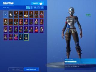 Accounts Fortnite Season 2 -3-4-5-9 Skins + 650 v-bucks
