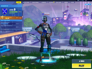 Accounts Fortnite Season 2 -3-4-5-9 Skins + 650 v-bucks