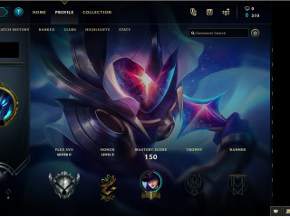 EUNE Rankeds available Perfect account for smurfing 9 skins 29 champion