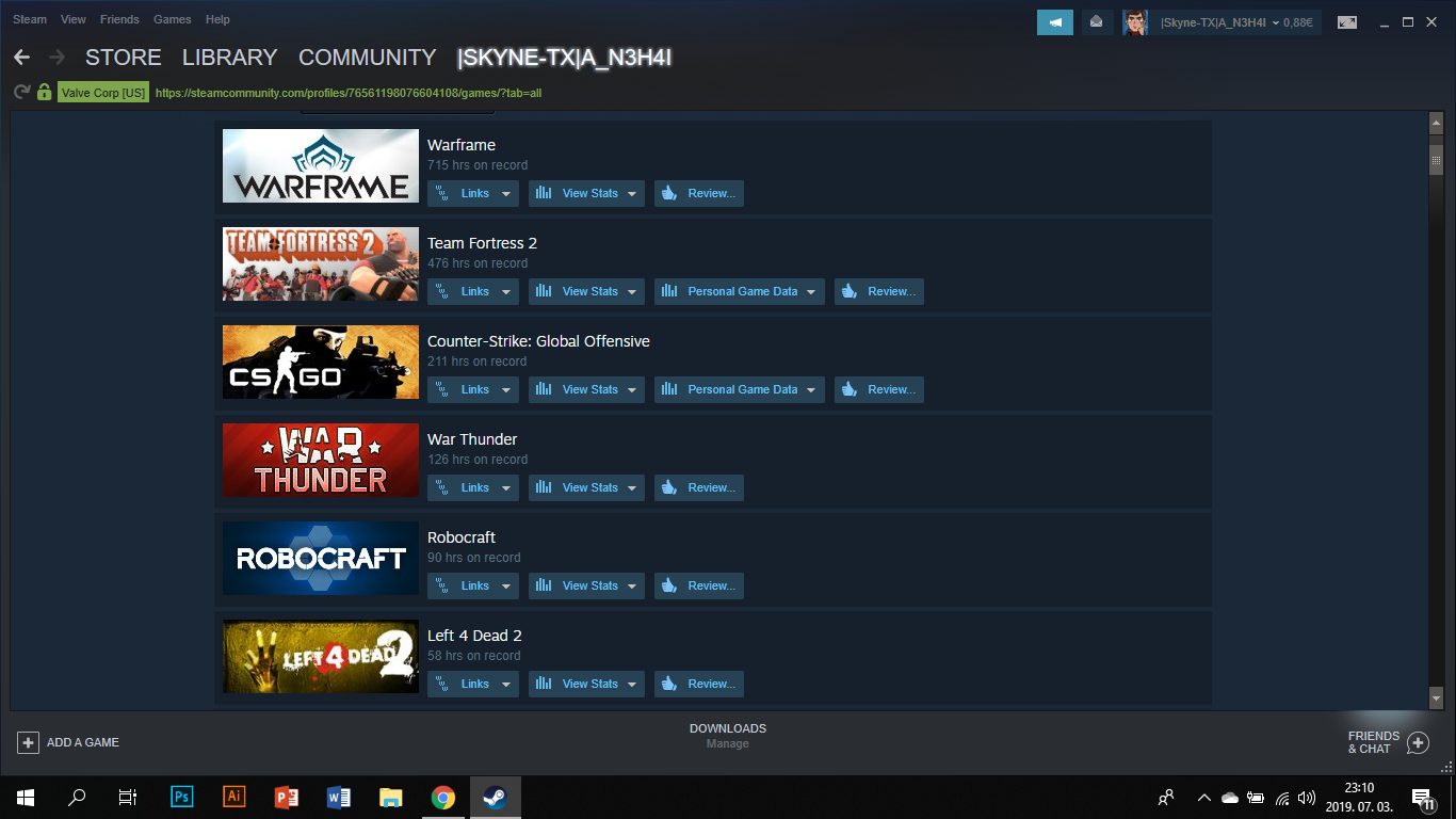 6,6YRS Steam account,that I want to sell
