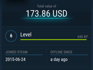"Selling my 2 personal  steam account worth 270$ ""2BIRDS 1STONE """