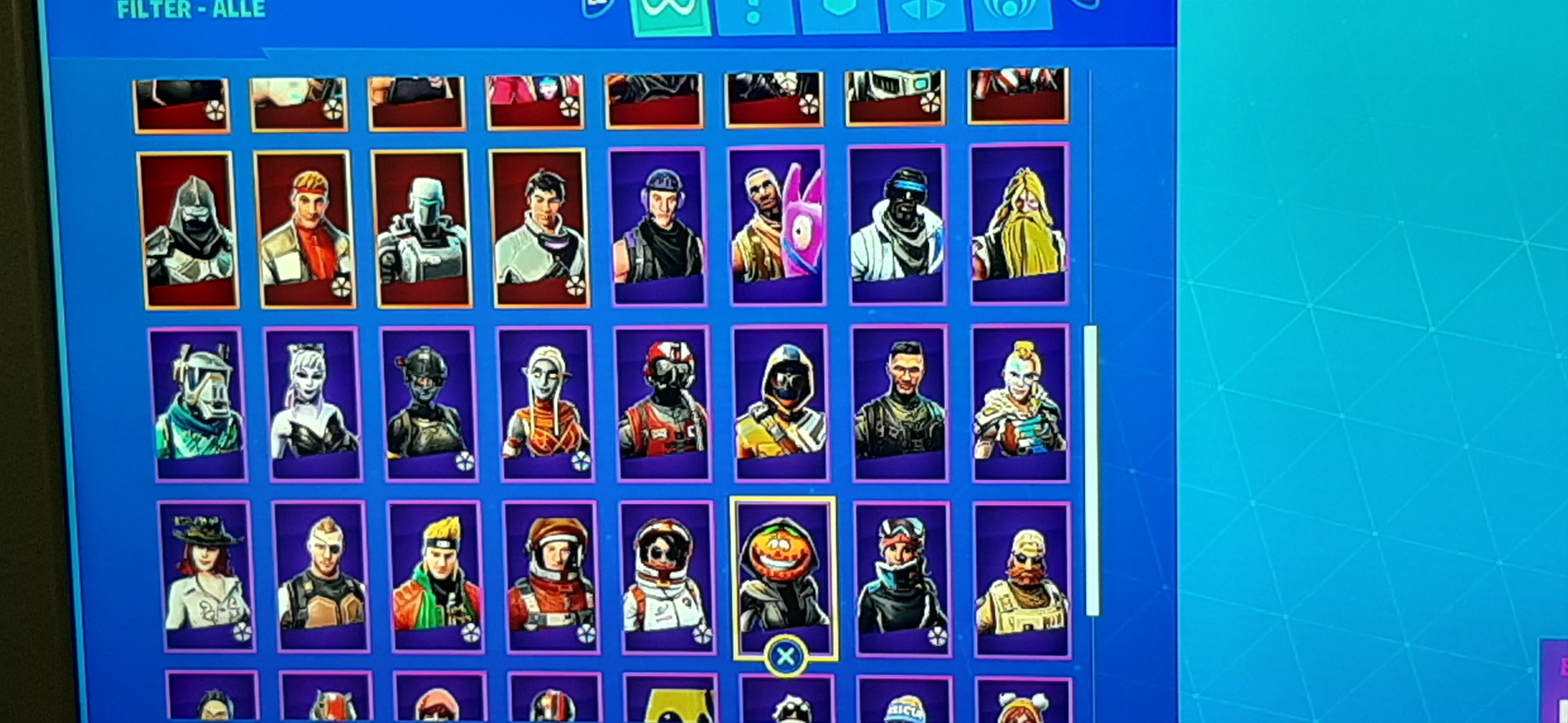 !!!FORTNITE ALL SKINS SEASON 3-9 + SUPER RARE BANNER ICON!!!