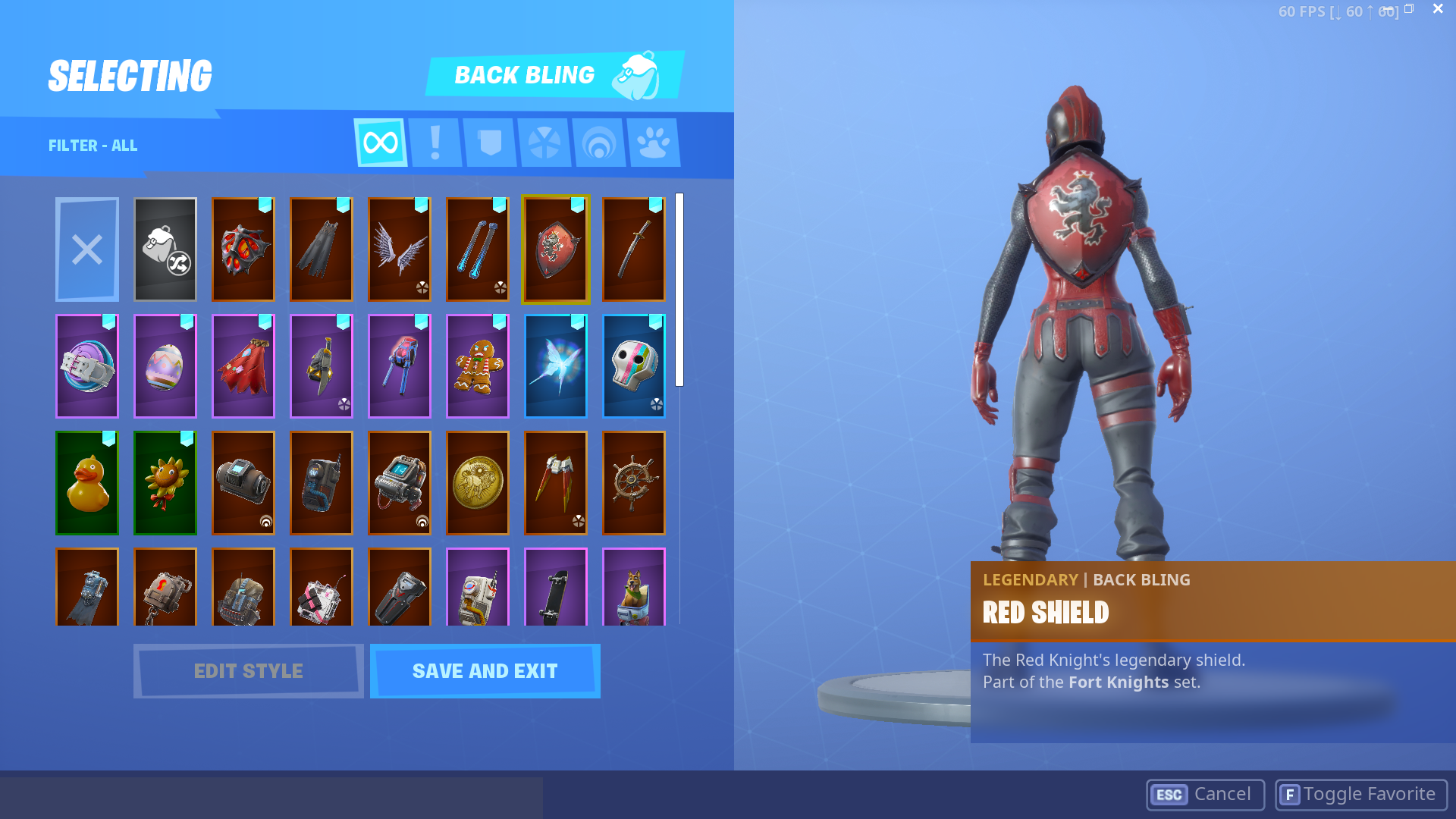 Cheap *RARE* fortnite account! (89 skins) season 1- 9 (MAX) whitout battle  pass in 2season  STW TOO!