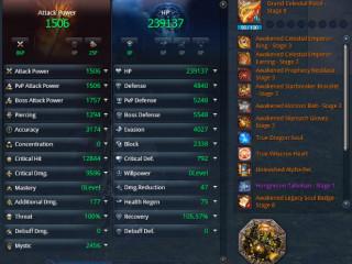 WTS HM24 1.9K AP Kungfu Master + HM22 1.9K AP Gunslinger on the same account, PVE+okay PVP [NA Yura]