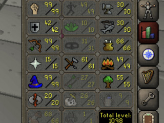 Maxed rune pure 60 attack 99 strength 99 range 99 mage 15 prayer fire cape!!!! Cheap and ready to pk